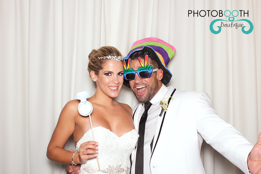 Villa Woodbine Wedding Photo Booth