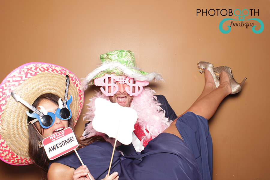 wedding photo booth at the coral gables country club