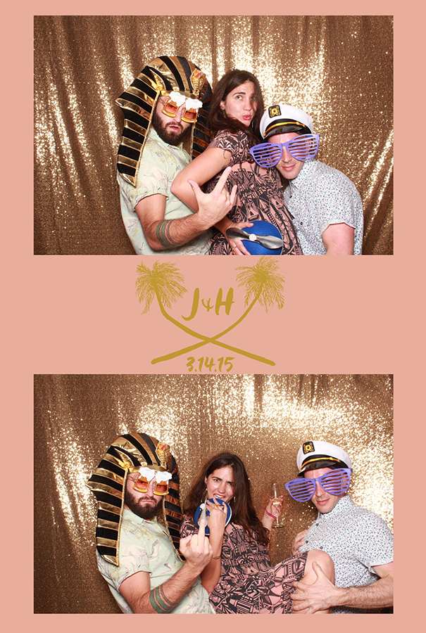 Floriday Keys Wedding Photo Booth