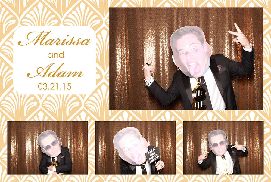 The Palms Wedding Photo Booth