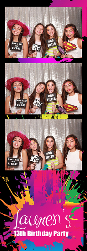 Miami Birthday Party Photo Booth