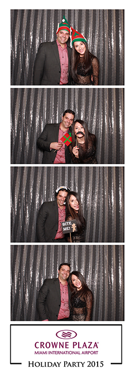 Miami Holiday Party Photo Booth