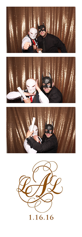 Westin Colonnade wedding photo booth